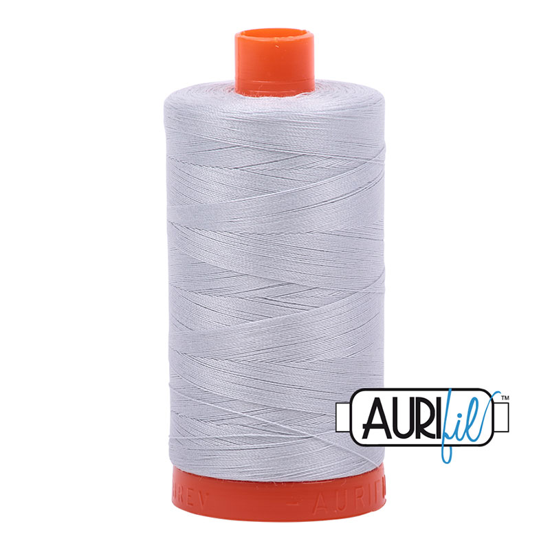 Cotton Mako Spool 50wt 2600 Aurifil - Dove