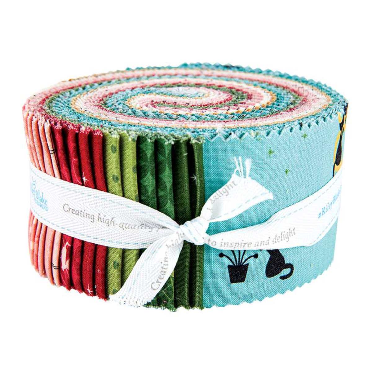 Riley Blake Jelly Roll - Mod Meow by Amanda Niederhauser