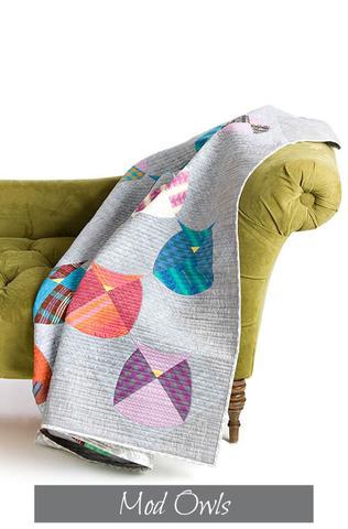 Mod Owls Pattern by Sew Kind Of Wonderful