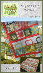 My Bags are Packed Quilt Pattern