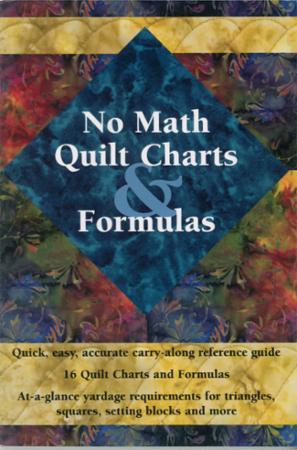 No Math Quilt Charts & Formulas Book