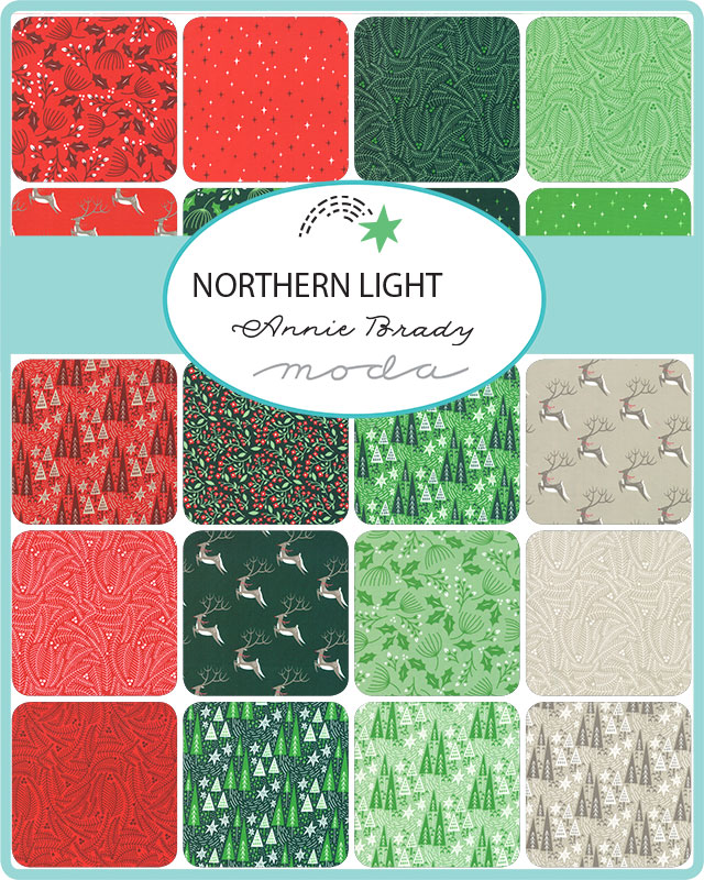 Moda Honey Bun - Northern Light by Annie Brady
