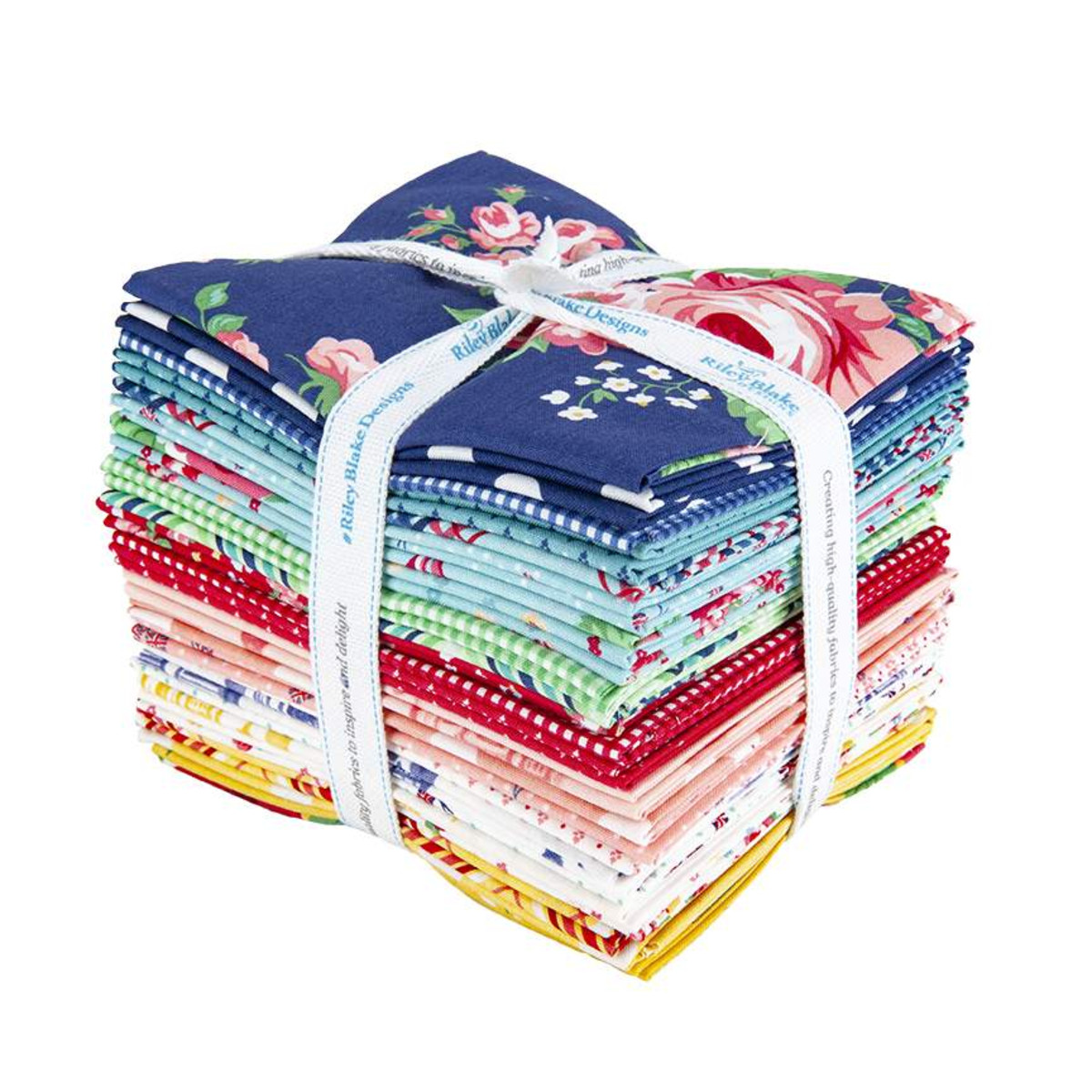 Riley Blake Fat Quarter Bundle - Notting Hill by Amy Smart