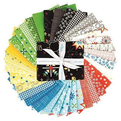 Riley Blake Fat Quarter Bundle - Oh Happy Day by Sandy Gervais