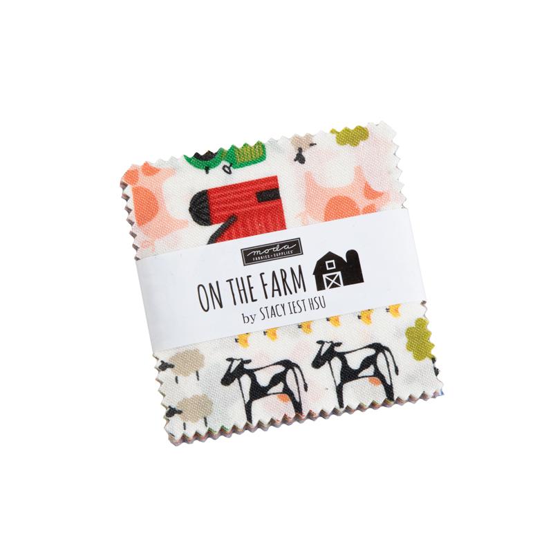 Moda Mini Charm - On The Farm by Stacy Iest Hsu
