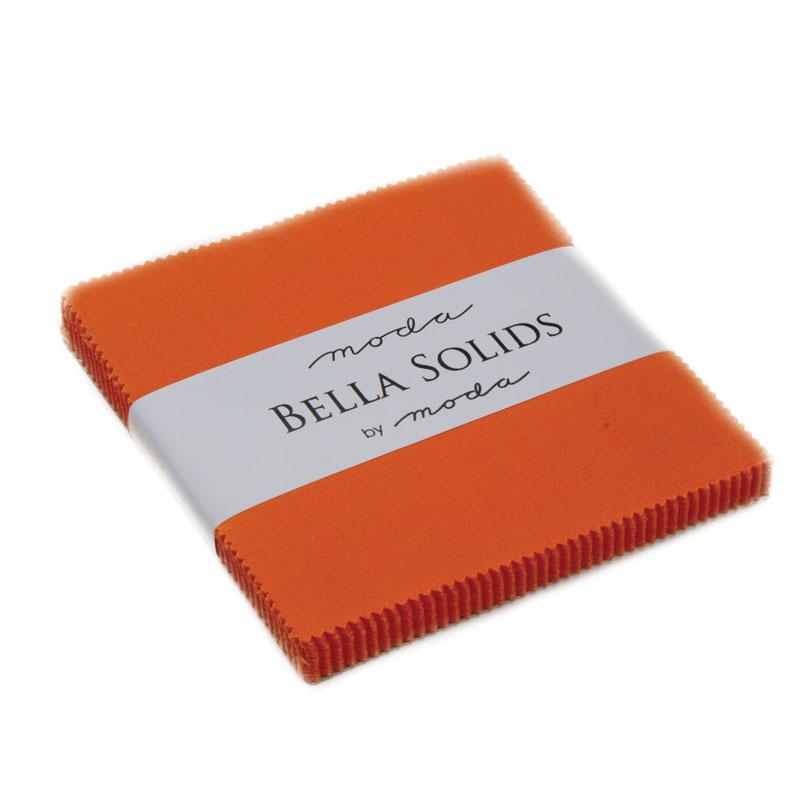 Solids Charm Pack - Orange 9900 80