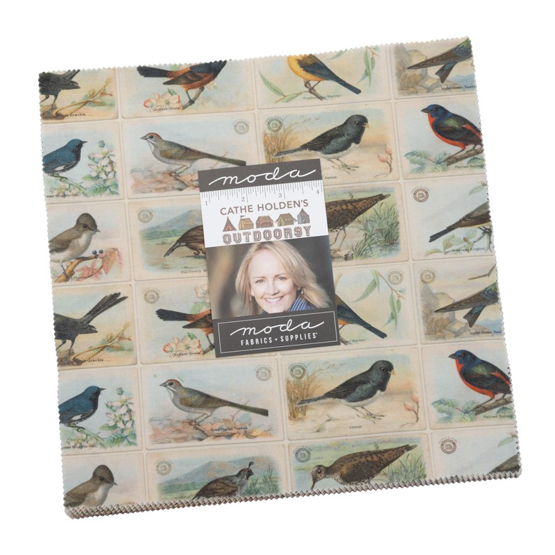 Moda Layer Cake - Outdoorsy by Cathe Holden