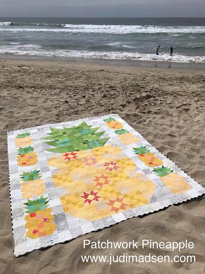 Patchwork Pineapple Quilt Pattern