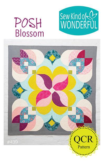 Posh Blossom Pattern by Sew Kind Of Wonderful