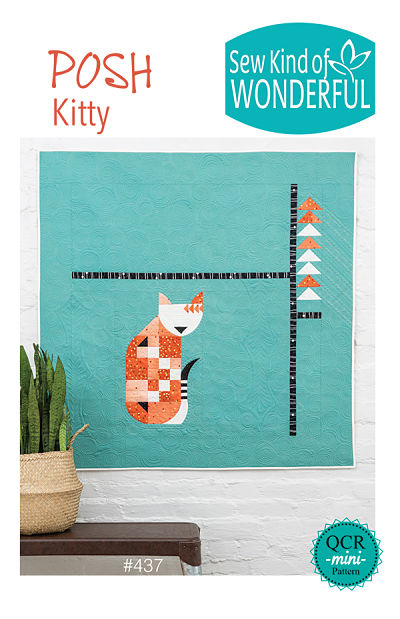 Posh Kitty Pattern by Sew Kind Of Wonderful