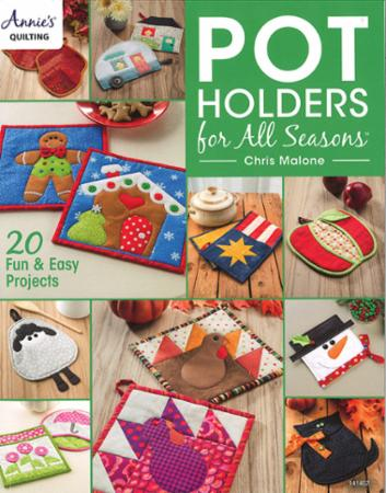 Pot Holders For All Seasons Book