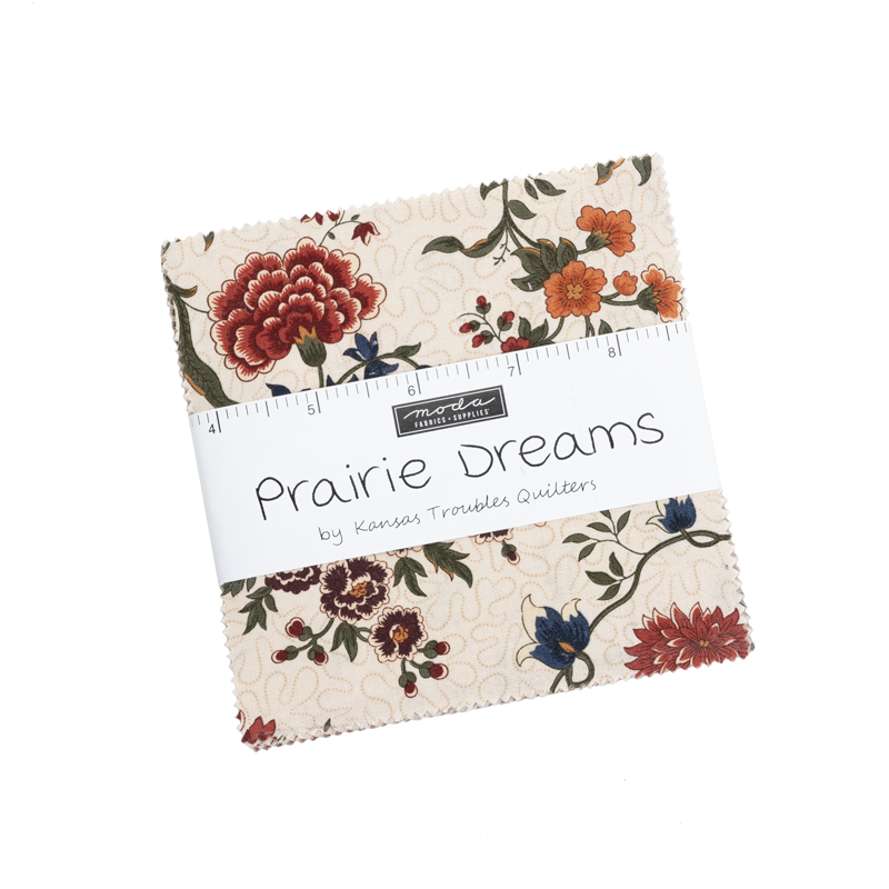 Moda Charm Pack - Prairie Dreams by Kansas Troubles Quilters