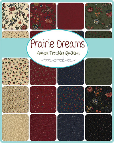 Moda Layer Cake - Prairie Dreams by Kansas Troubles Quilters
