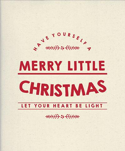 Moda Panel - Printworks Holiday - Merry Little Christmas