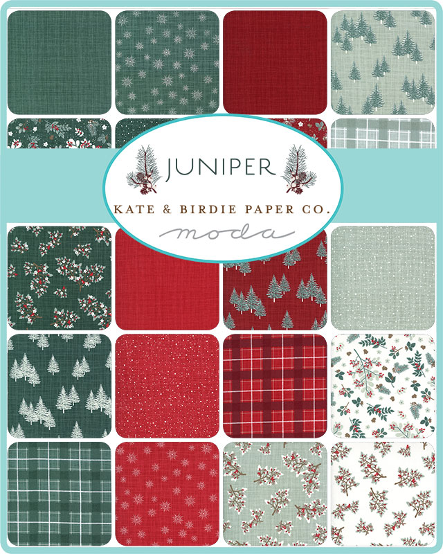Moda Honey Bun - Juniper by Kate & Birdie