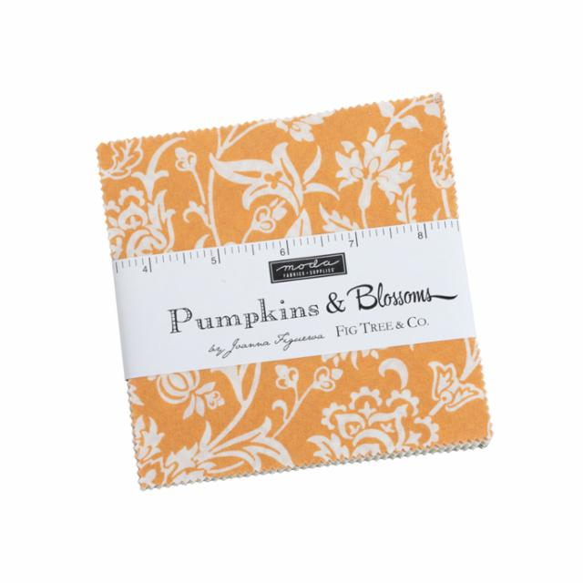 Moda Charm Pack - Pumpkins & Blossoms by Fig Tree & Co