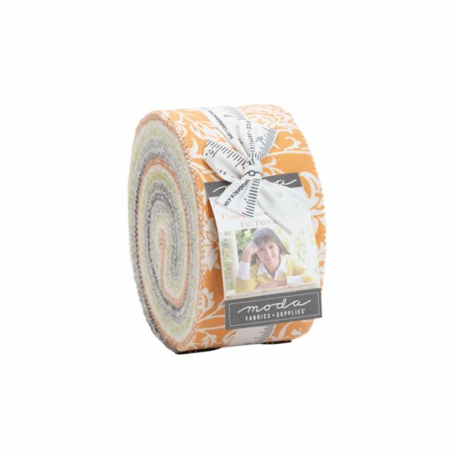 Moda Jelly Roll - Pumpkins & Blossoms by Fig Tree & Co