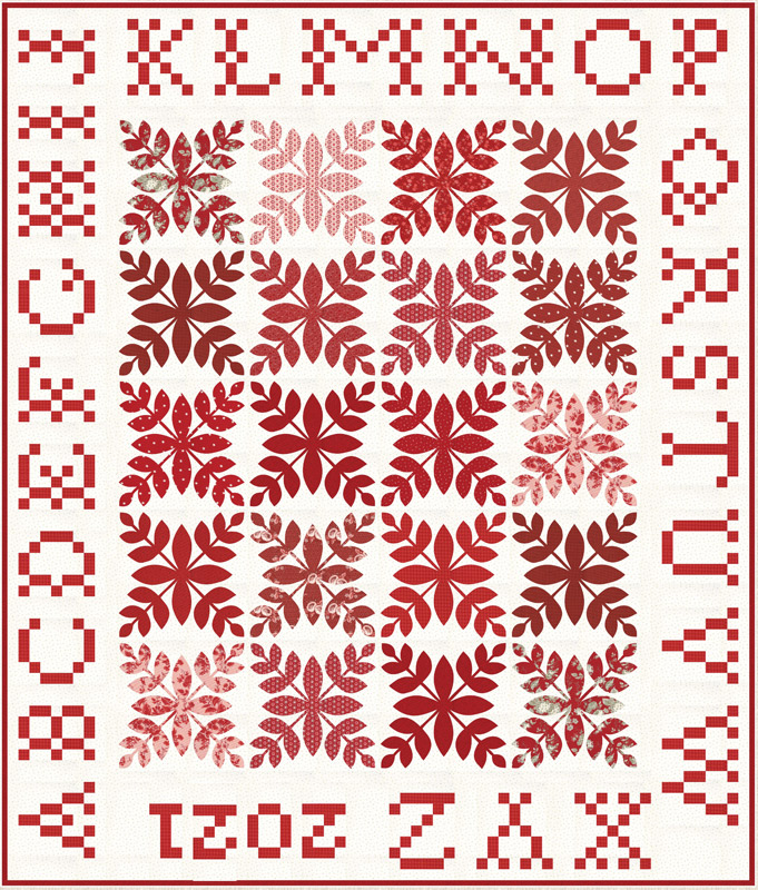 Moda Quilt Kit - Roselyn by Minick & Simpson