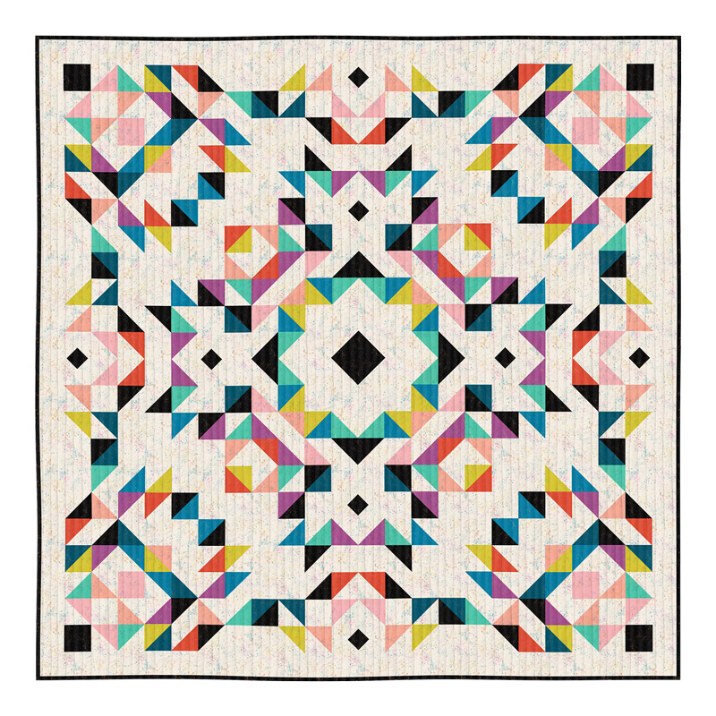 Moda Quilt Kit - Ruby Star Basics