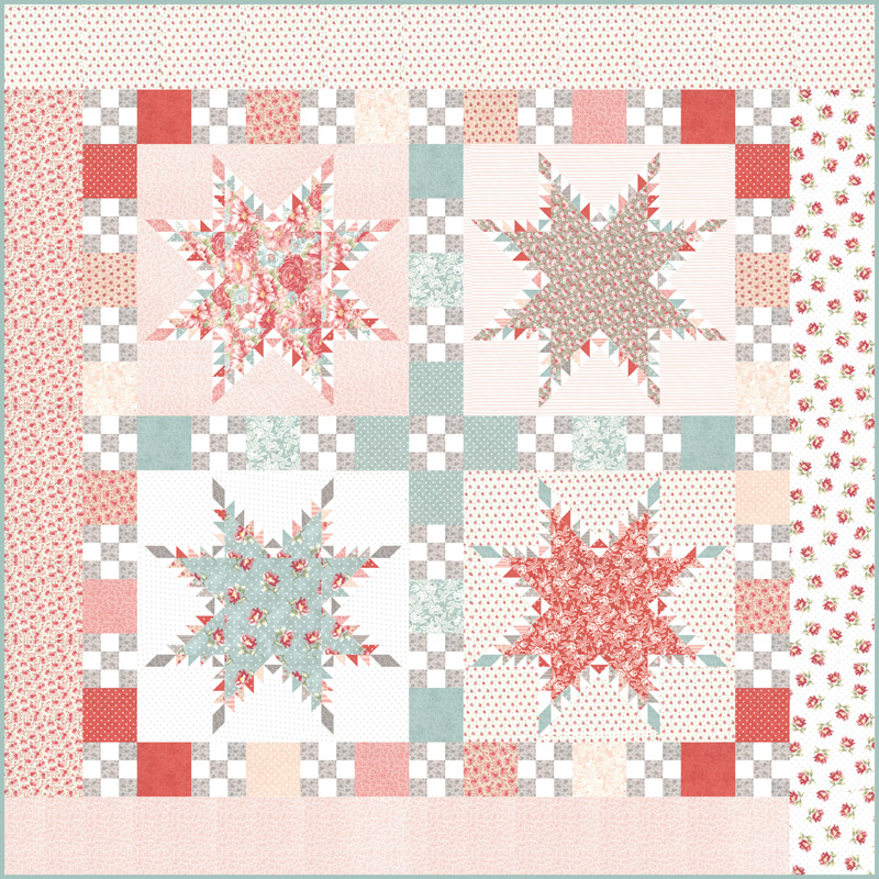 Moda Quilt Kit - Sanctuary by 3 Sisters