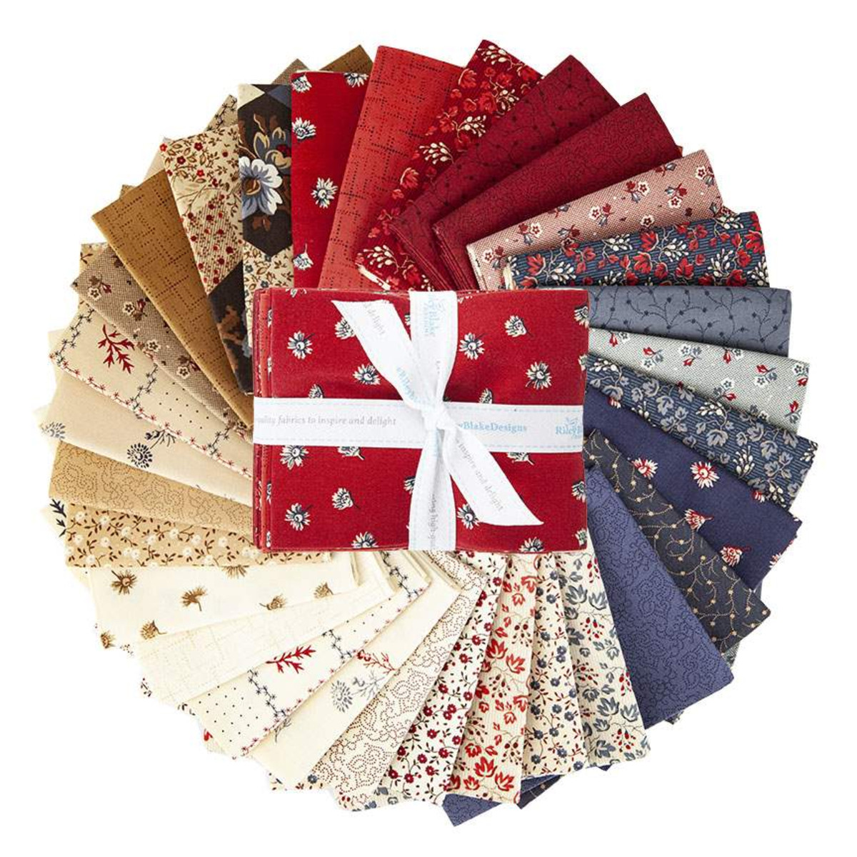 Riley Blake Fat Quarter Bundle - Seeds of Glory by Stacy West