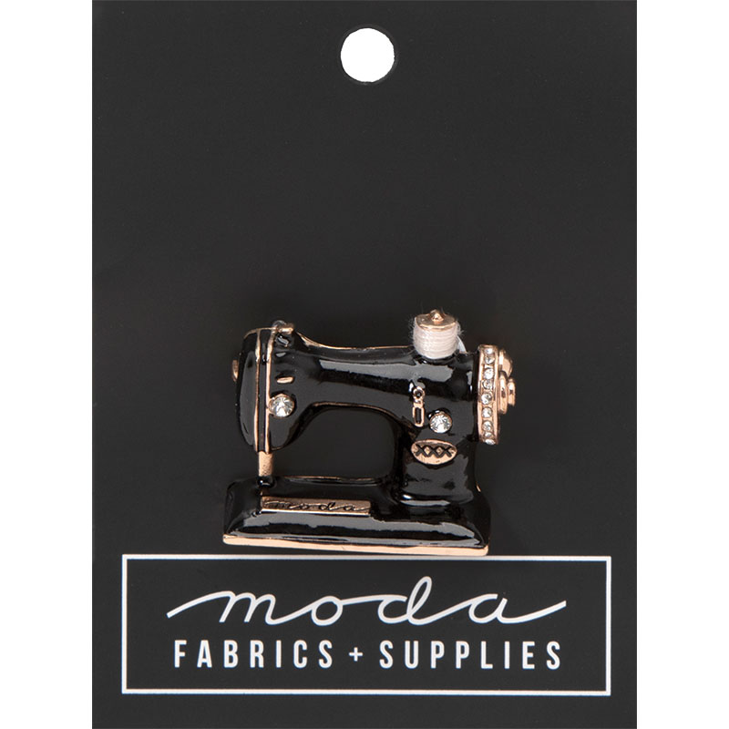 Moda Sewing Machine Enamel Pin
