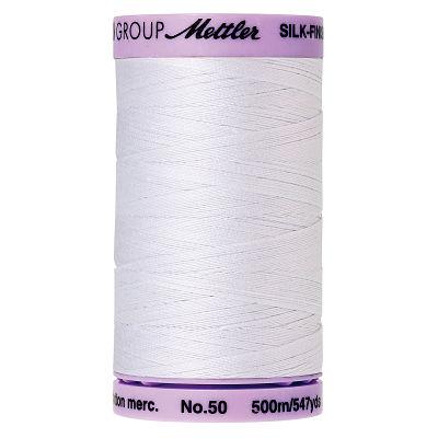 Silk Finish 50wt White Spool