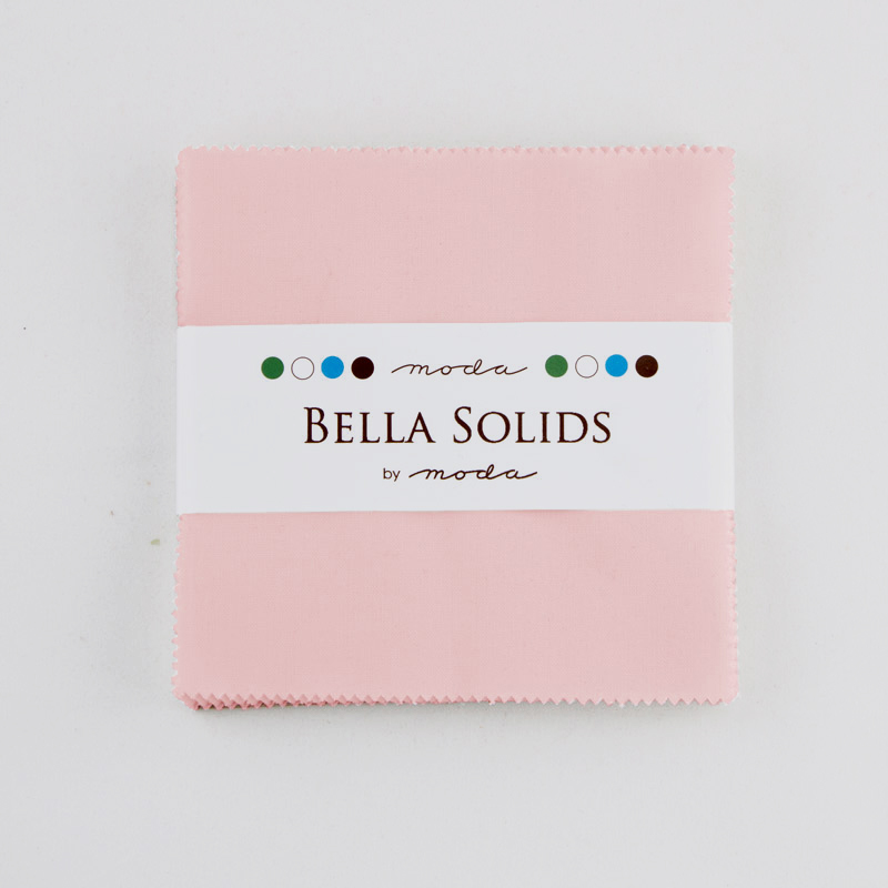 Solids Charm Pack - Sister's Pink 9900 145