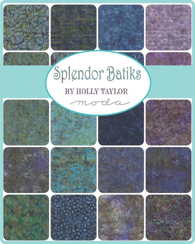 Moda Charm Pack - Splendor Batiks by Holly Taylor