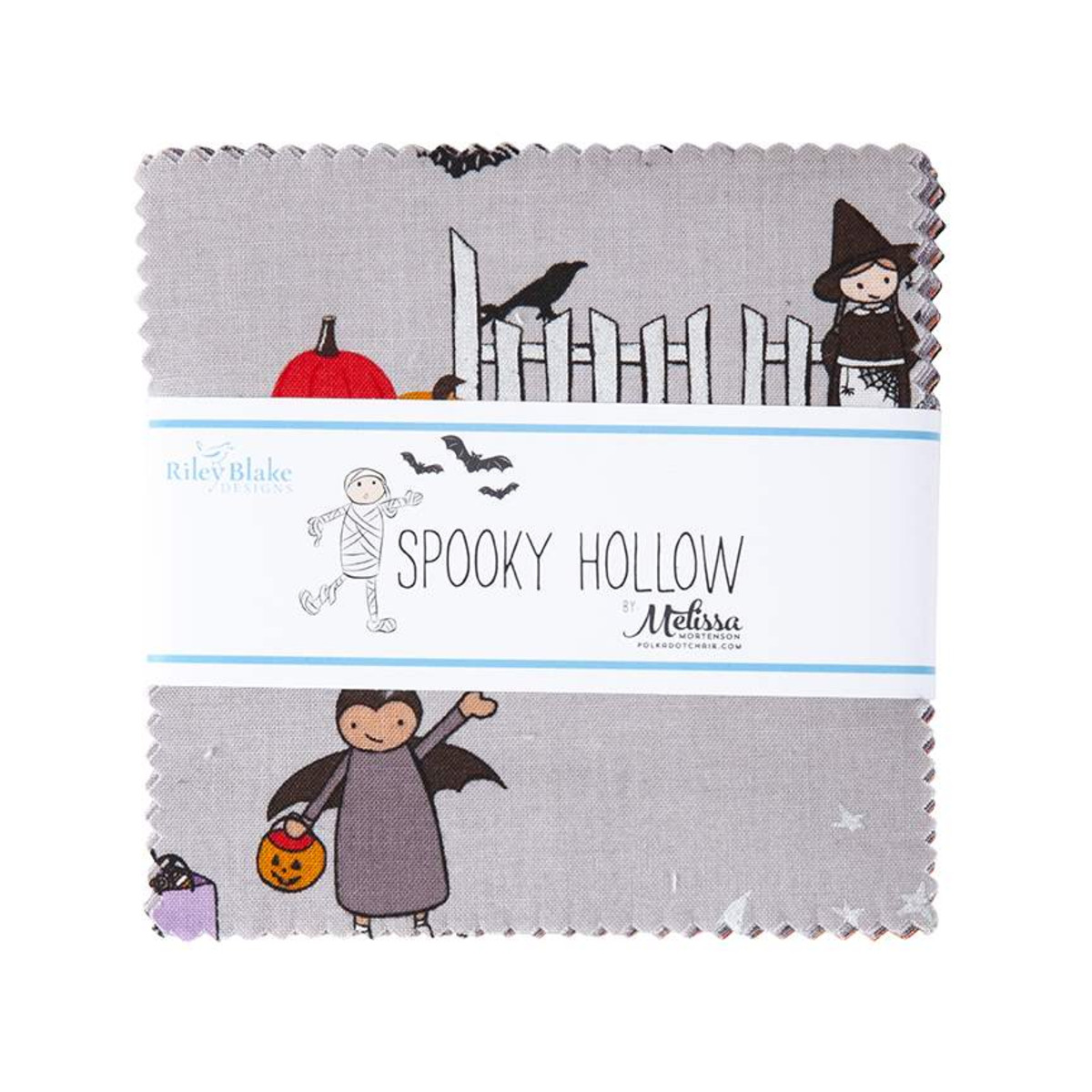 Riley Blake Charm Pack - Spooky Hollow by Melissa Mortenson