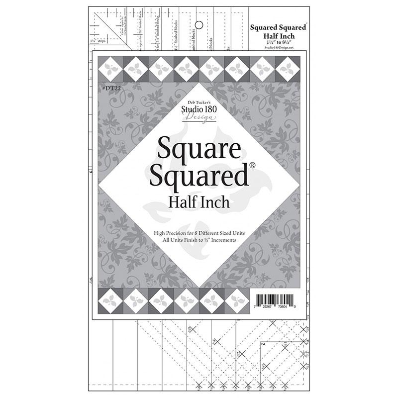 Square Squared Half Inch Template