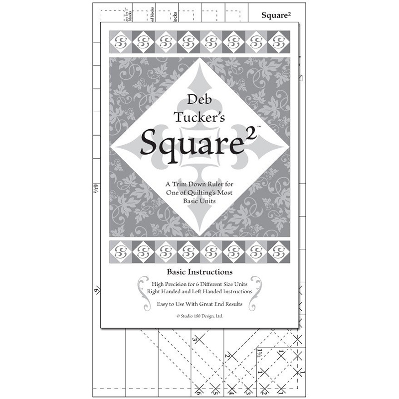 Square Squared Ruler