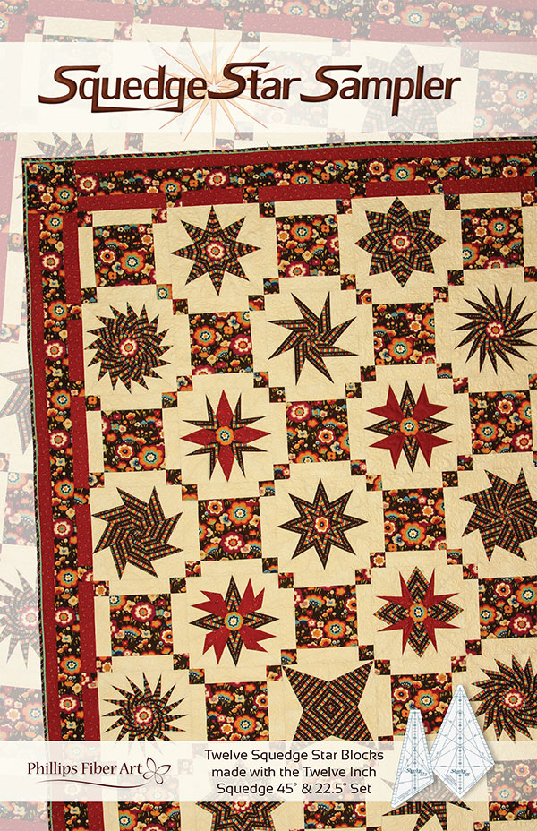 Squedge Star Sampler Pattern