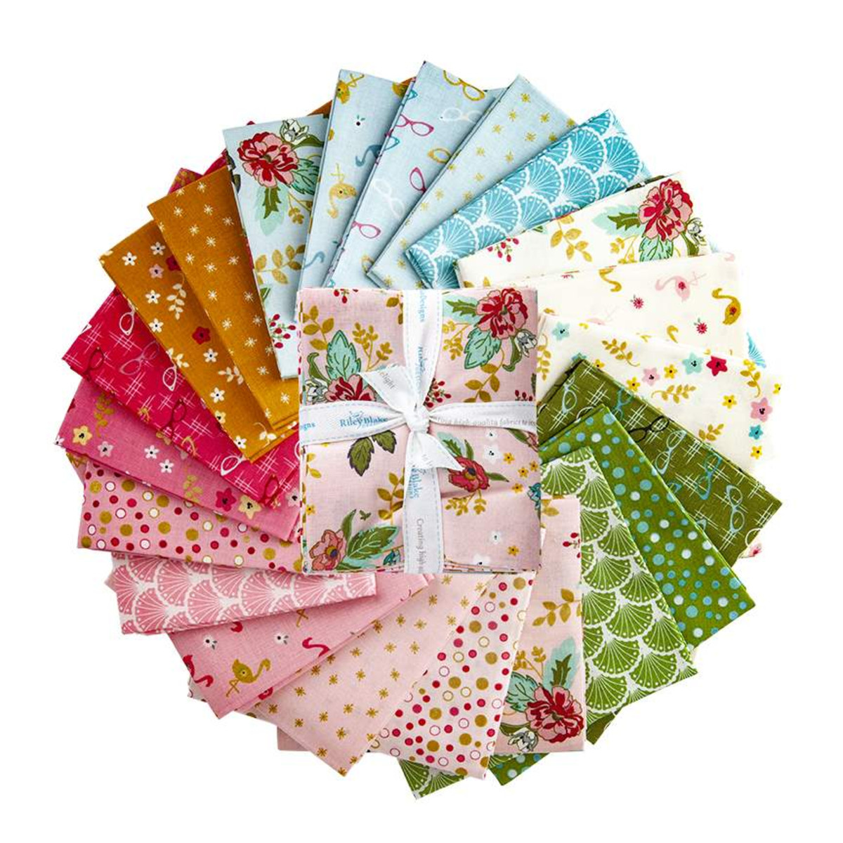 Riley Blake Fat Quarter Bundle - Stardust by Beverly McCullough