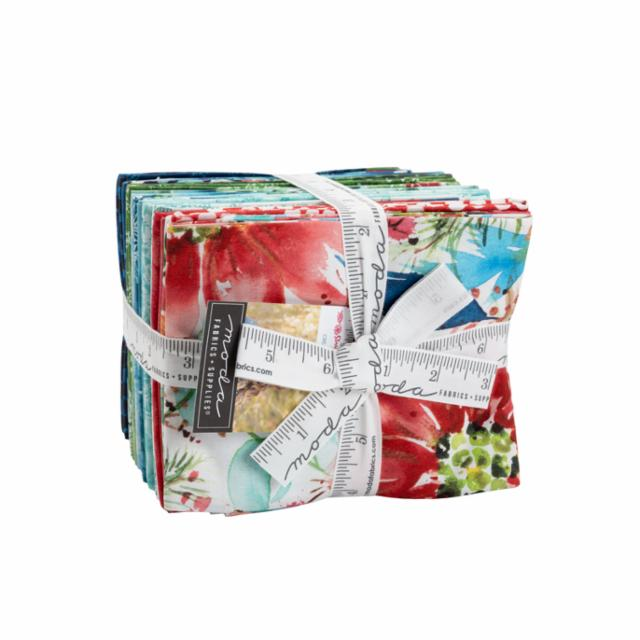 Moda Fat Quarter Bundle - Starflower Christmas by Create Joy Project