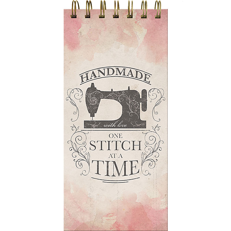 Handmade One Stitch At A Time Notepad
