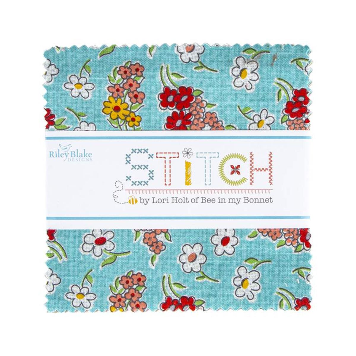 Riley Blake Charm Pack - Stitch by Lori Holt