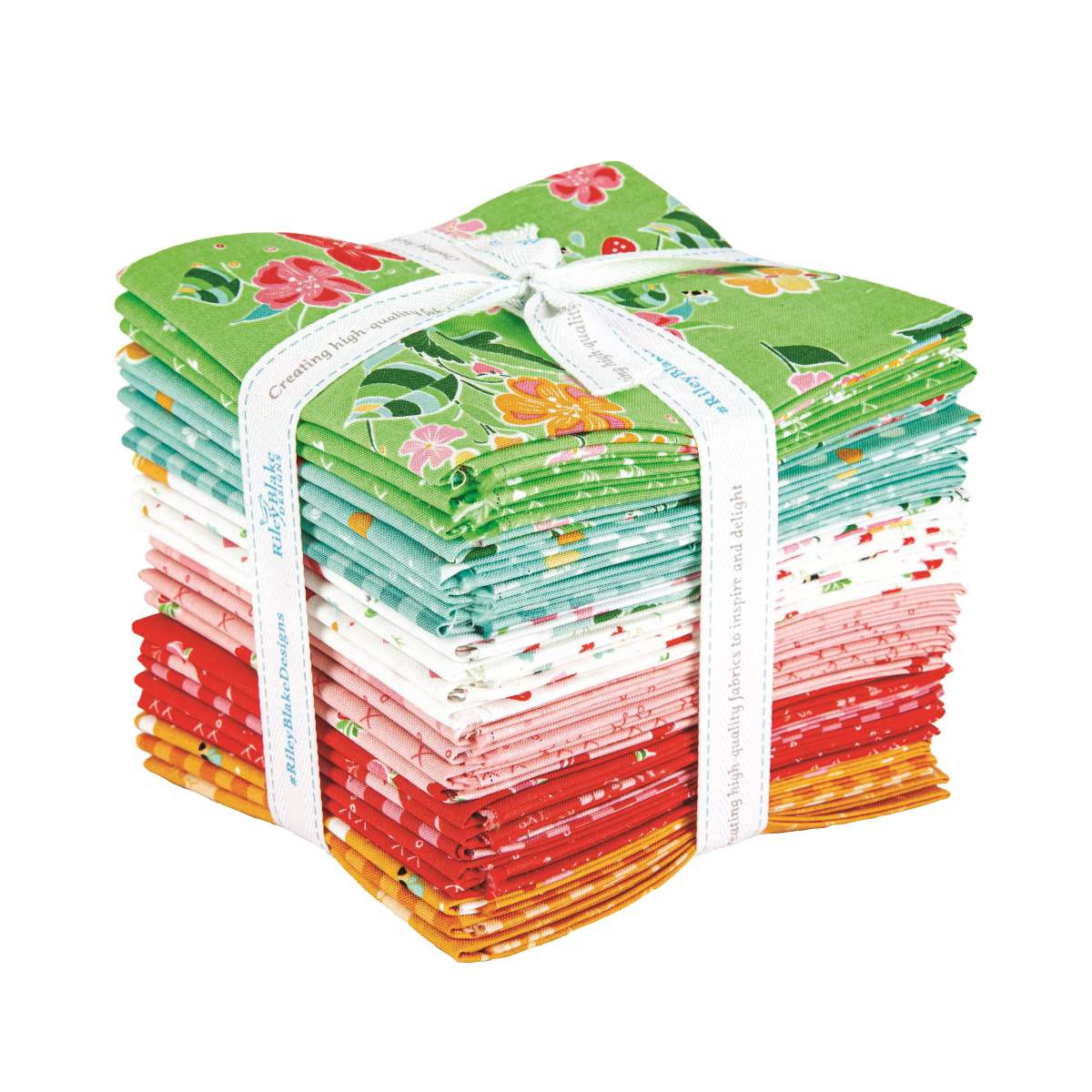 Riley Blake Fat Quarter Bundle - Strawberry Honey by Gracey Larson