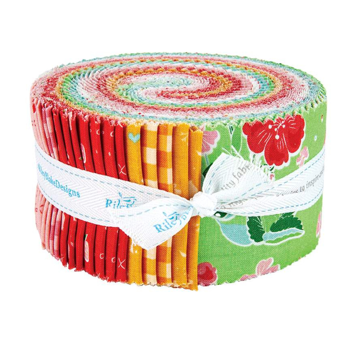 Riley Blake Jelly Roll - Strawberry Honey by Gracey Larson