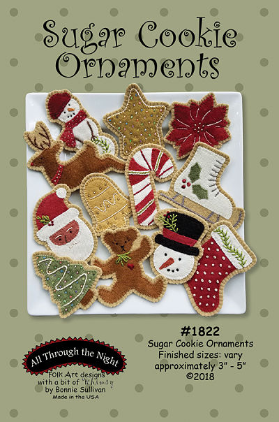 Sugar Cookie Ornaments Pattern