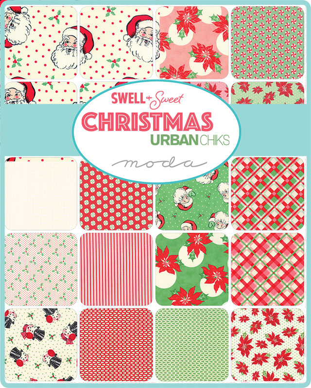 Moda Charm Pack - Swell & Sweet Christmas by Urban Chiks