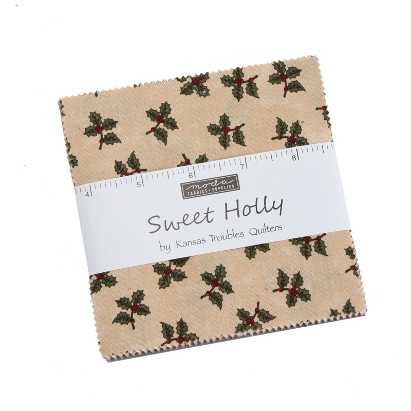Moda Charm Pack - Sweet Holly by Kansas Troubles