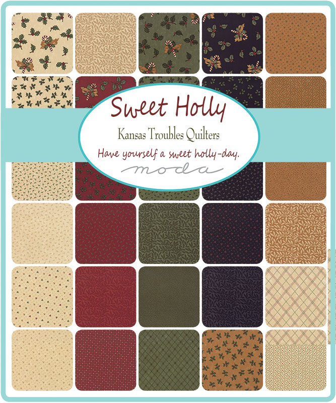 Moda Layer Cake - Sweet Holly by Kansas Troubles