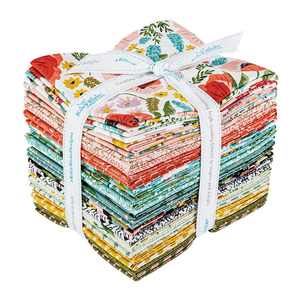 Riley Blake Fat Quarter Bundle - Tea with Bea by Katherine Lenius