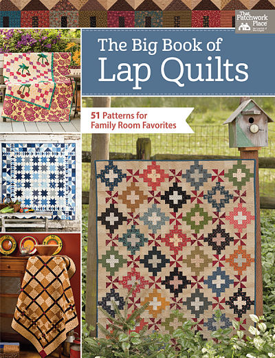 The Big Book Of Lap Quilts Book