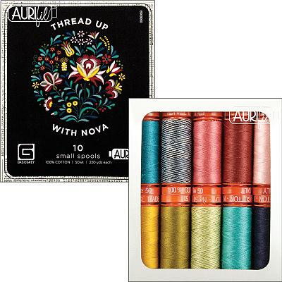 Thread Up With Nova 50wt Aurifil
