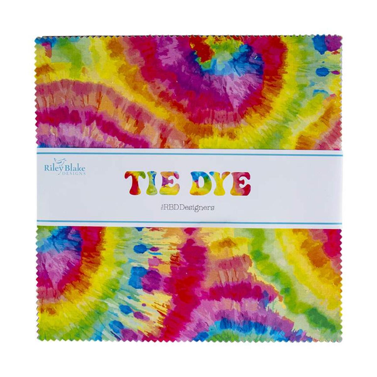 Riley Blake Layer Cake - Tie Dye by The RBD Designers