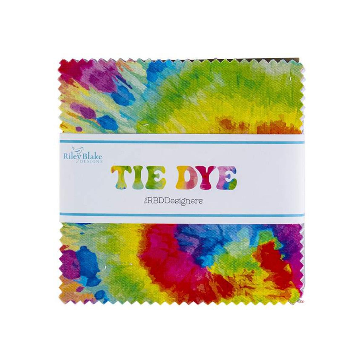 Riley Blake Charm Pack - Tie Dye by The RBD Designers