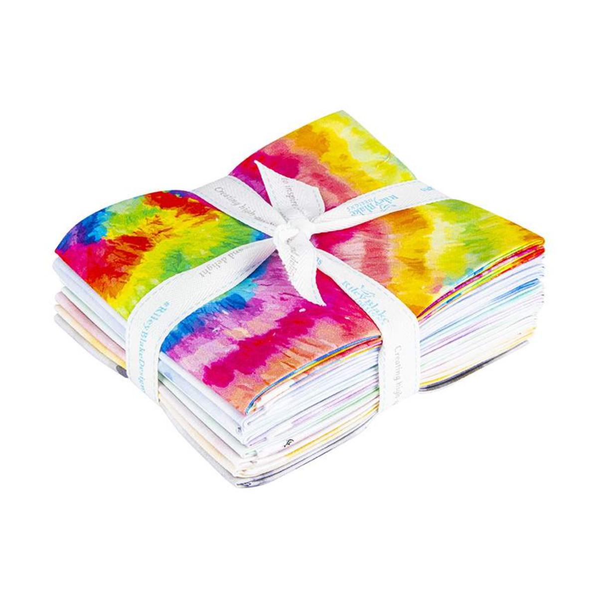 Riley Blake Fat Quarter Bundle - Tie Dye by The RBD Designers