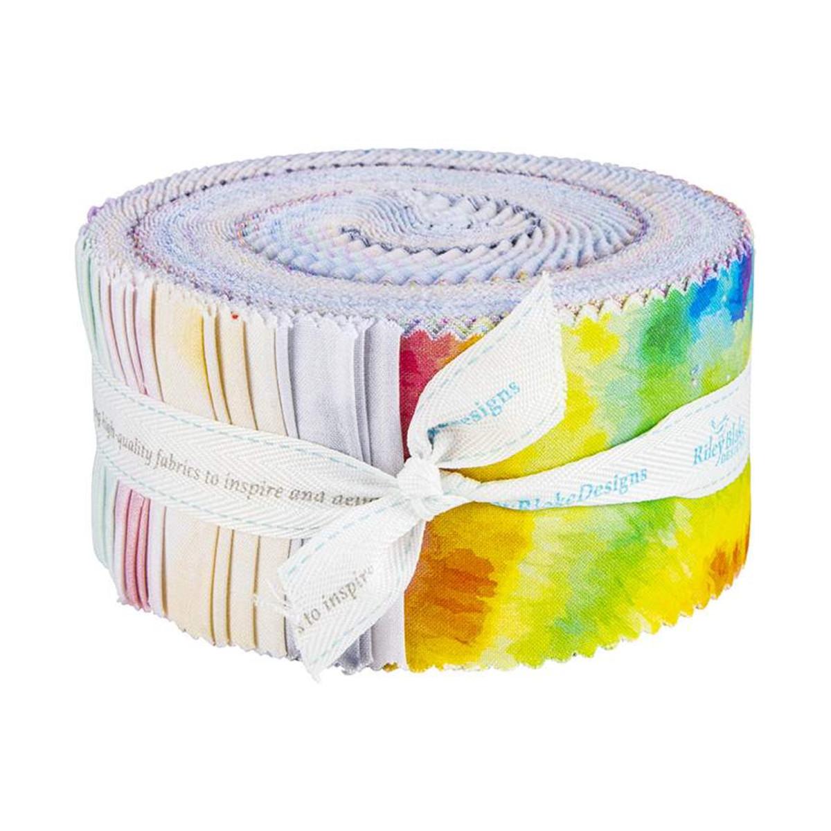 Riley Blake Jelly Roll - Tie Dye by The RBD Designers